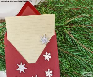 Puzle Dopis Santa Klausovi