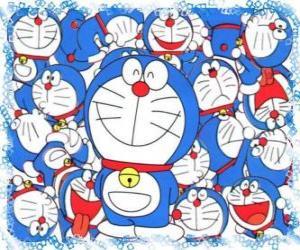 Puzle Doraemon je Cosmic Cat, který přichází z budoucnosti