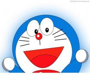 Puzle Doraemon je kouzlo přítel Nobita a protagonista dobrodružství
