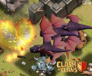 Puzle Draci 2, Clash of Clans