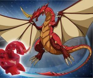Puzle Dragonoid je jedním z nejmocnějších druhů v Vestroia