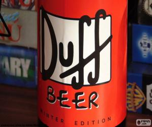 Puzle Duff Beer logo
