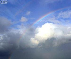 Puzle Duha mezi mraky