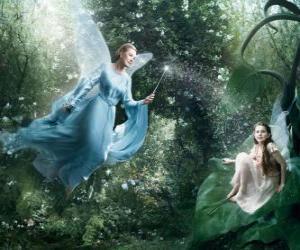 Puzle Dvě víly v lese
