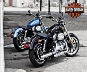 Puzle Dva Harley davidson