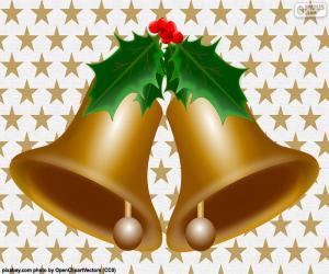 Puzle Dva vánoční zvonky