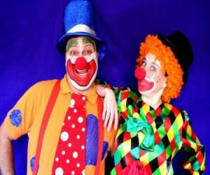 Puzle Dvojice klaunů