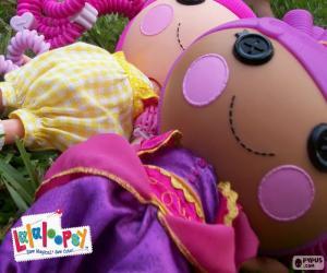 Puzle Dvou Lalaloopsy dolls