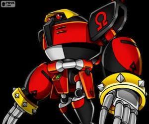 Puzle E-123 Omega, robot vytvořený doktor Eggman