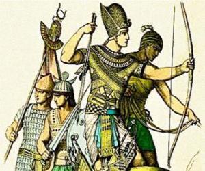 Puzle Egyptské voják s Lukem