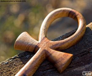 Puzle Egyptský Ankh kříž