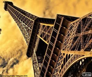 Puzle Eiffelova věž, Paříž