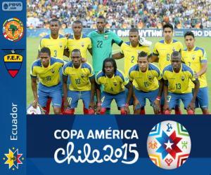 Puzle Ekvádor Copa America 2015