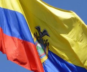 Puzle Ekvádorská vlajka