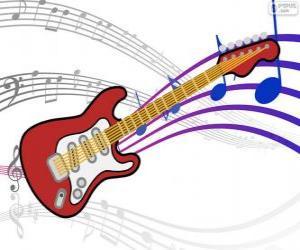 Puzle Elektrická kytara
