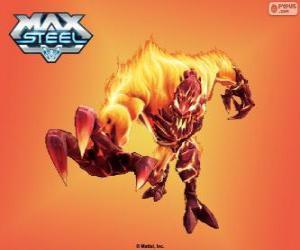 Puzle Elementor Ohně, Max Steel