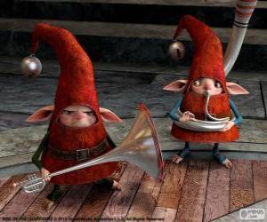 Puzle Elfové. Legendární Parta