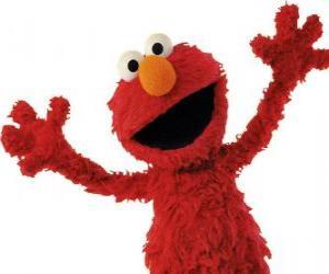 Puzle Elmo s úsměvem