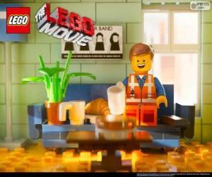 Puzle Emmet, protagonista filmu Lego