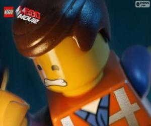 Puzle Emmet z filmu Lego Příběh
