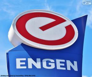 Puzle Engen Petroleum logo