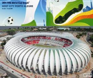 Puzle Estádio Beira-Rio (60 000), Porto Alegre