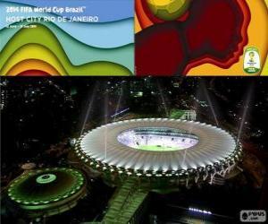 Puzle Estádio do Maracanã (76.525), Rio de Janeiro