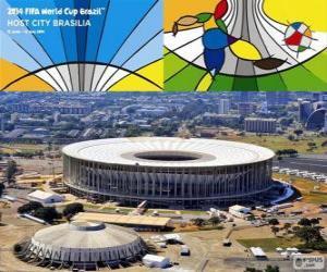 Puzle Estádio Nacional (70.807), Brasilia