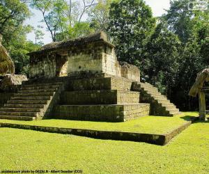 Puzle Est aA-3, Seibal, Guatemala