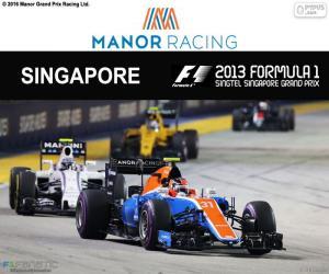 Puzle Esteban Oconem, Grand Prix Singapuru 2016