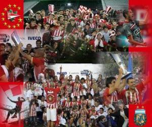 Puzle Estudiantes de La Plata - Apertura MS 2010 v Argentině