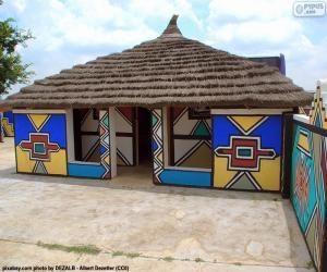 Puzle Etnické Dům, Jihoafrická republika
