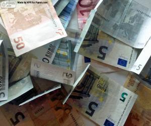 Puzle Eurobankovky