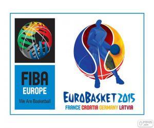 Puzle EuroBasket 2015 logo