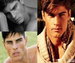 Puzle Evandro Soldati je brazilská modelka