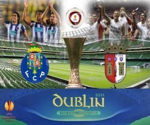 Puzle Evropa finále Ligy 2010-11 Porto vs Braga