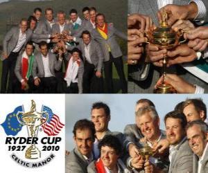Puzle Evropa vyhraje Ryder Cup 2010