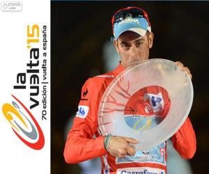 Puzle Fabio Aru Vuelta a España 2015