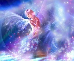 Puzle Fairy, zářivý