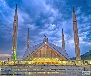 Puzle Faisalova mešita, Pákistán