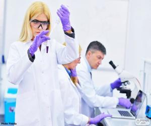 Puzle Farmaceutické laboratoře