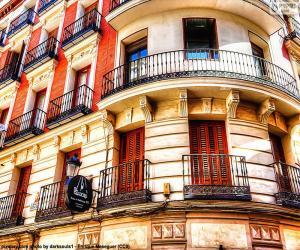 Puzle Fasáda v Madridu