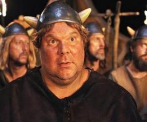Puzle Faxe, Viking větší chuť k jídlu, největší a nejsilnější z Vikings Flake