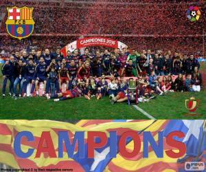 Puzle FC Barcelona, Copa del Rey 2015-2016