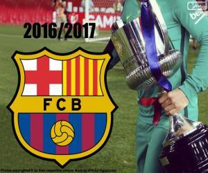 Puzle FC Barcelona, Copa del Rey 2016-17