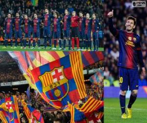 Puzle FC Barcelona, mistr 2012-2013