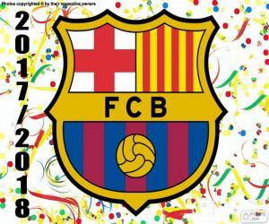 Puzle FC Barcelona, mistr 2017-18