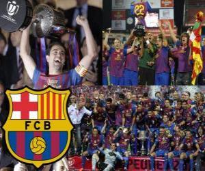 Puzle F.C Barcelona vítěz Copa del Rey 2011-2012