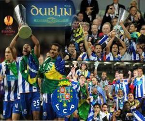 Puzle FC Porto, vítěz UEFA Europa League 2010-2011