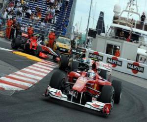 Puzle Felipe Massa - Ferrari - Monte-Carlo 2010